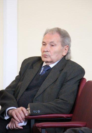 На лекцію завітав професор Михайло Шалата