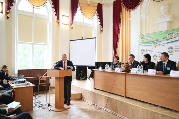 Вітальне слово президента некомерційної організації VZW «ORADEA» Патріка Беллінка