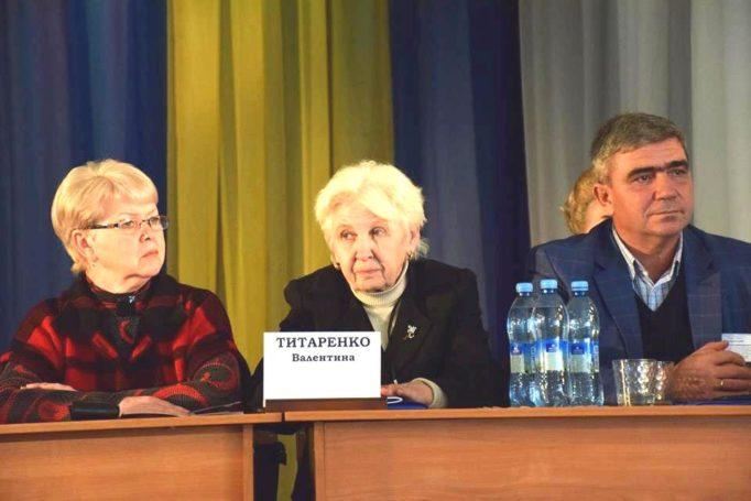На відкритті Конгресу (професори Н.Слюсаренко, В.Титаренко, Л.Оршанський)