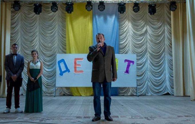 Голова профкому студентів Ігор Гівчак вітає першокурсників