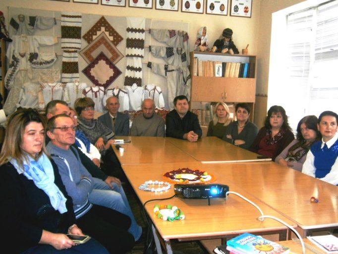 Учасники семінару - стрийські вчителі трудового гавчання та технологій