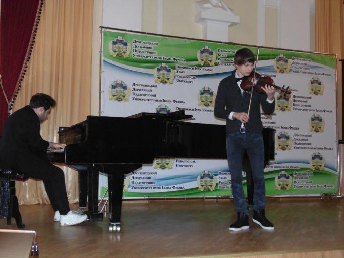 Музичне вітання Максима Угриновського та Євгена Сов'яка