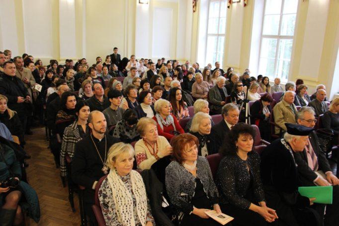 Члени та гості урочистої вченої ради