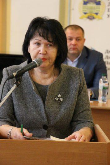 Урочисто відкрила конференцію ректор професор Надія Скотна