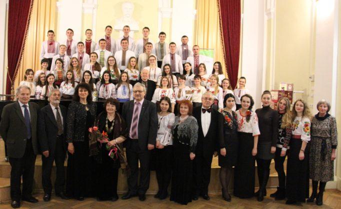 Учасники святкової академії