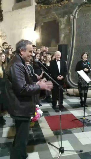 Надзвичайний і Повноважний Посол королівства Бельгії в Україні Люк Якобс висловлює подяку за святкове дійство