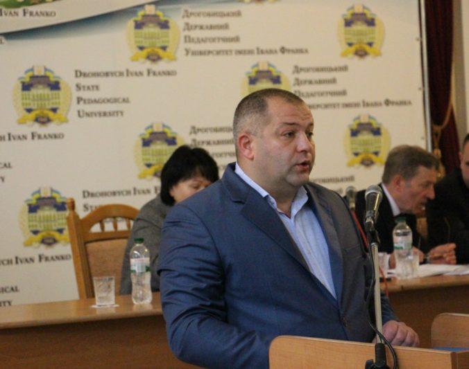 Із вітальним словом до присутніх звернувся заступник міського голови Дрогобича з гуманітарних та соціальних питань Василь Качмар