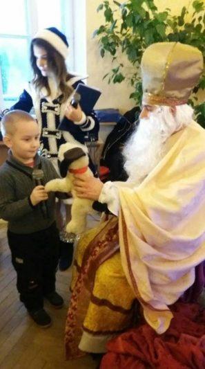Кожен отримав подарунок від св. Миколая