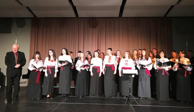 Різдвяний концерт у місті Голленег