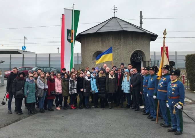 Участь у церемонії з нагоди міжнародного дня прав людини, вшанування жертв Першої світової війни в таборі Талергоф
