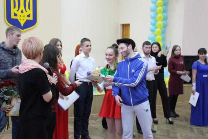 Нагородження студентів історичного факультету зі здобутим ІІІ місцем