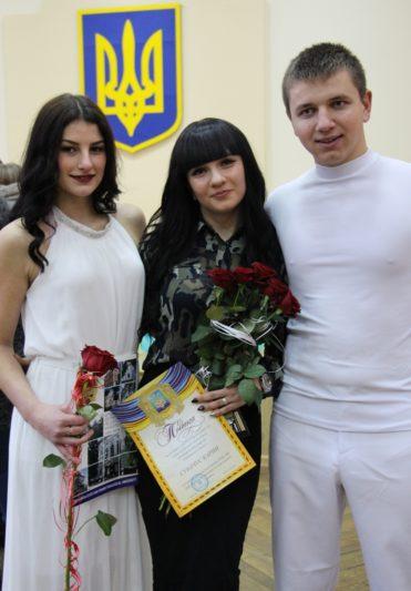 Переможці Осіннього балу - представники ІММ (хореограф - Каріна Субачус, факультет початкової та мистецької освіти)