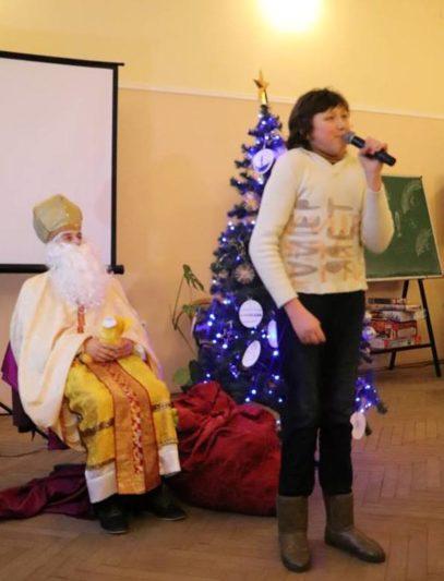 Вірш-подарунок для св. Миколая