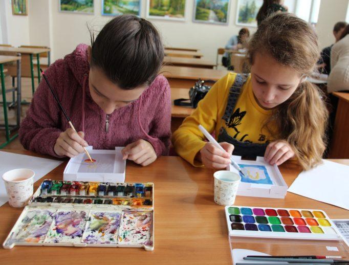 Майстер-клас для учнів із образотворчого мистецтва