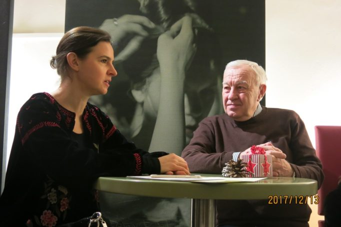 Зустріч з Оксаною Линів (першою жінкою головним диригентом опери та філармонійного оркестру міста Ґрац )