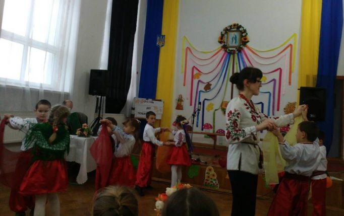 Виховний захiд проводить учитель Галина Шибунька