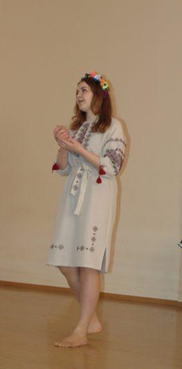 Ганна Данилів - представник Біолого-природничого факультету