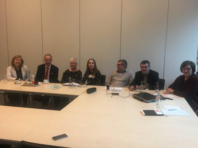 Зустріч доцента Надії Грибок з бельгійськими колегами