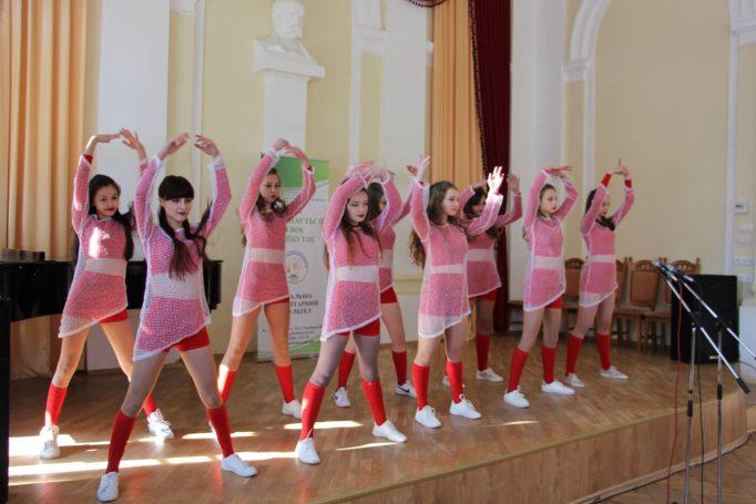 Виступ спортивно-танцювального клубу «Мерінга»