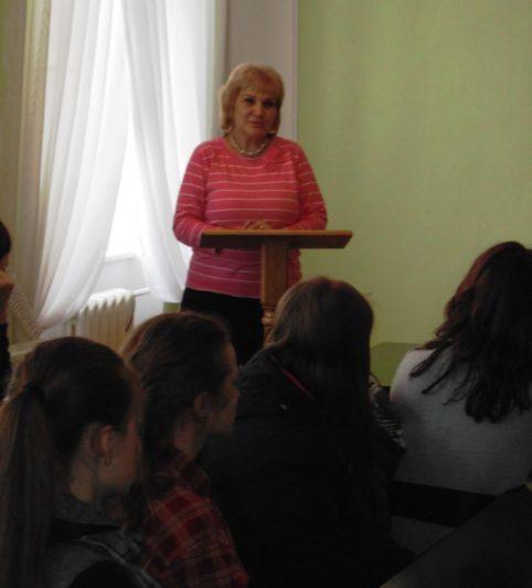 Вітальне слово завідувача аспірантури і докторантури доцента Олени Куцик