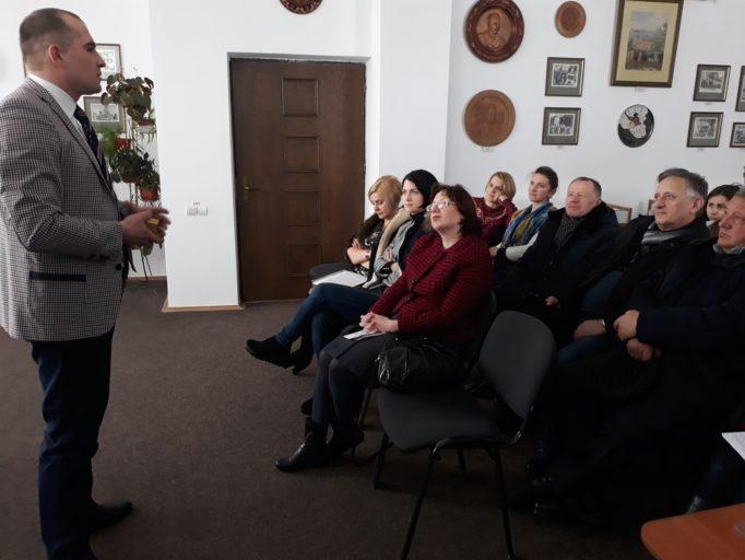 Вітальне слово доцента Богдана Лазорака
