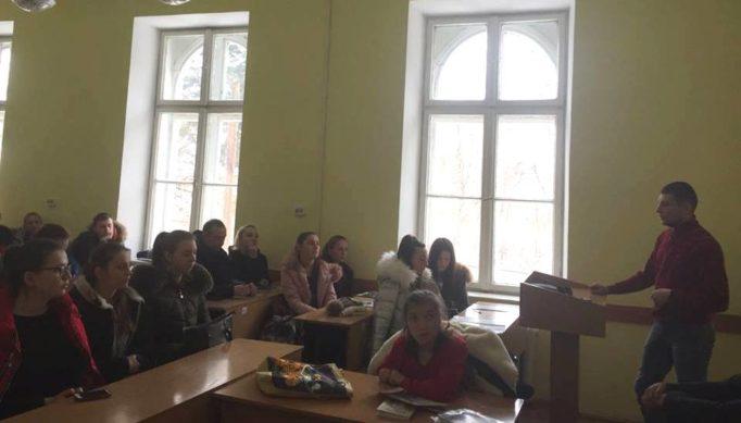 Зустріч студентів із реабілітантами