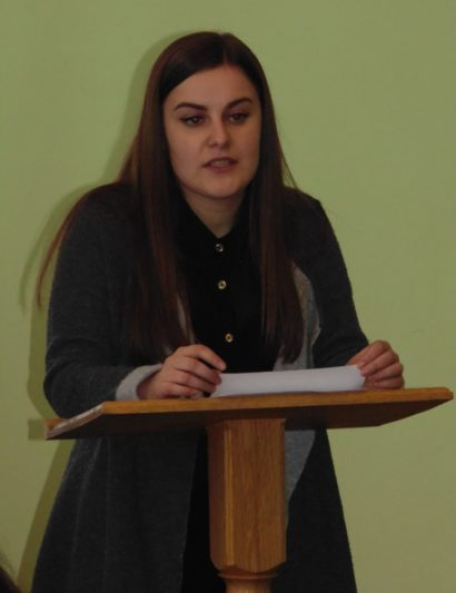 Студентка Наталія Калька.