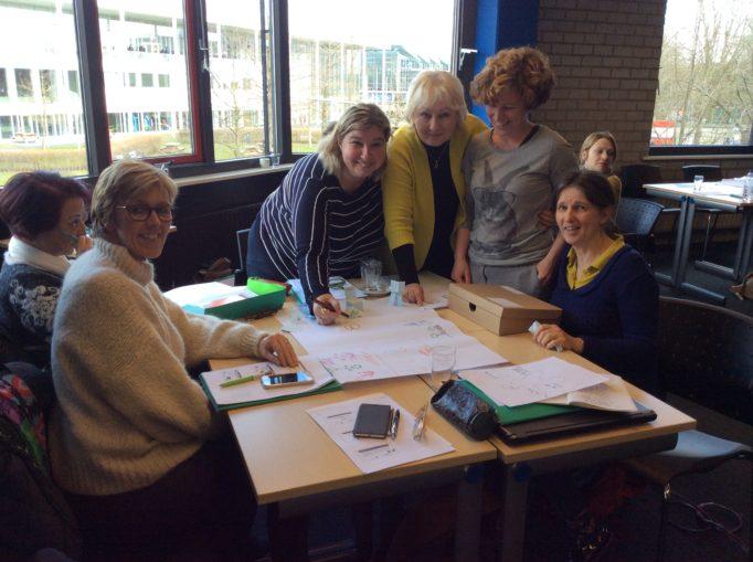 Обговорення проблем інклюзивної освіти з колегами з Греції, Португалії та Швеції