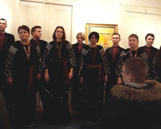 Виступ Дрогобицького муніципального хору «ЛЕГЕНДА»