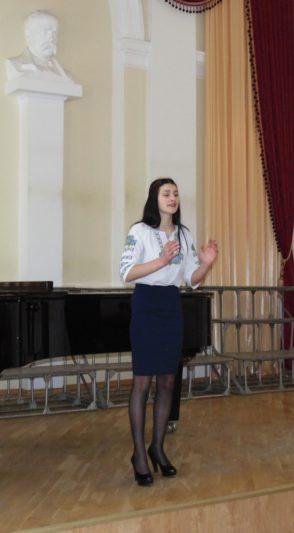 На сцені - Марія Чурій