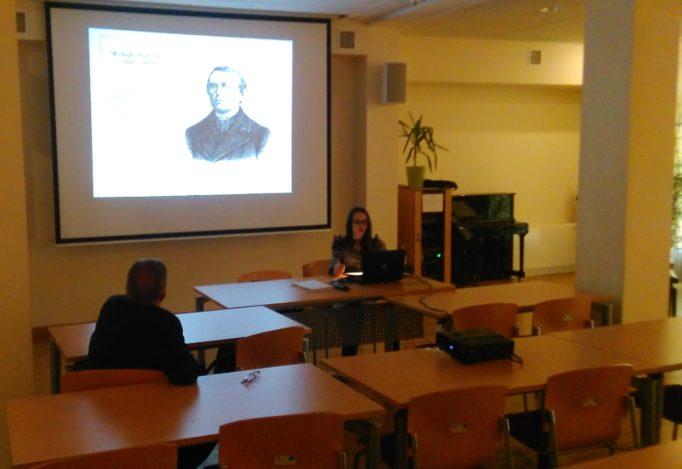 Під час лекцій у Жешувському університеті на Музичному Факультеті
