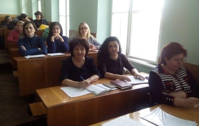 Робота членiв журi кафедри загальної педагогiки та дошкiльної освiти
