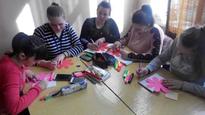 Робота студентів у групi