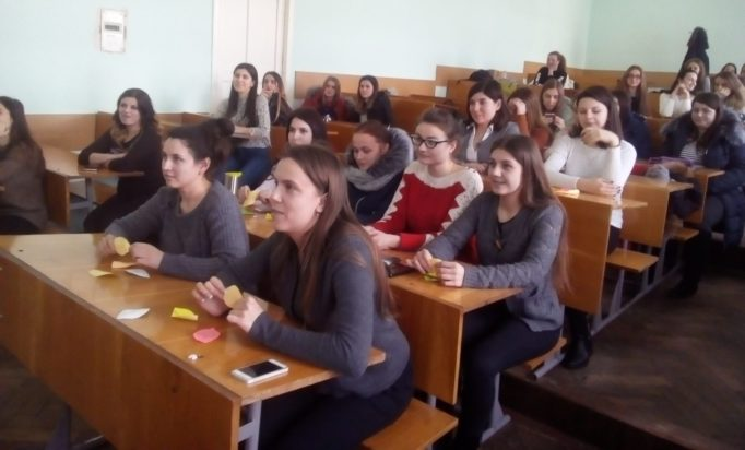 Самопрезентацiя учасникiв інституту iноземних мов майстер-класу ''Свiй талант дарую дiтям''