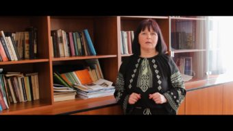 Старший викладач кафедри української мови Леся Баранська