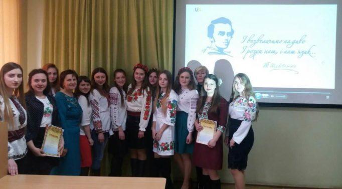 Учасники конкурсу читців поезії