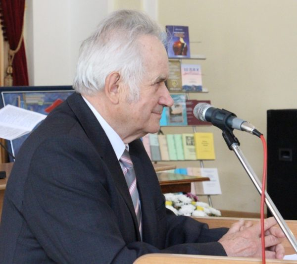Професор Юрій Кишакевич ділиться спогадами про трудовий та науковий шлях професора Валерія Скотного