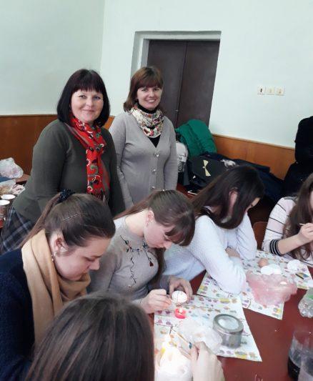 Організатори дійства- викладачі філологічного факультету Леся Баранська та Ірина Дмитрів.