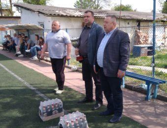 Оголошення переможця «Кубку пам'яті ректора Валерія Скотного»