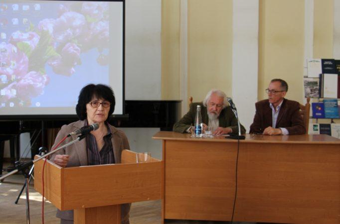 Доповідь доцента Віри Лімонченко