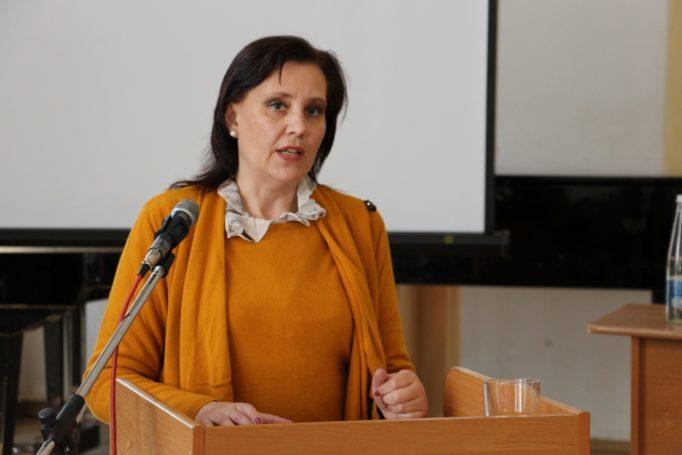 Виступ доцента Жанни Янко