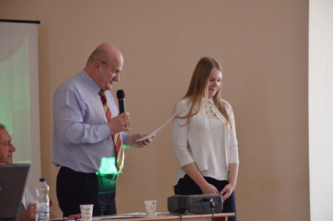 Переможець конкурсу учениця 10-го класу Дрогобицького ліцею Герман Вікторія