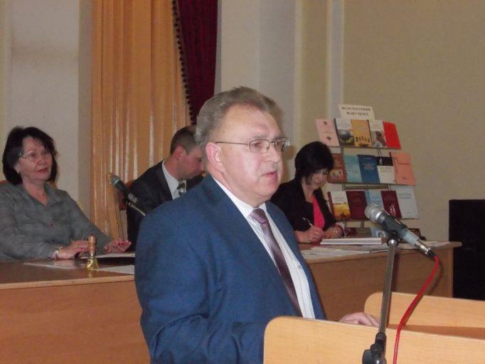 Виступ професора Ярослава Яремка