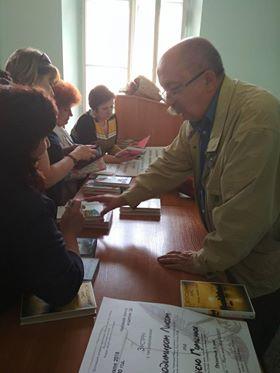 Автограф-сесiя Володимира Лиса