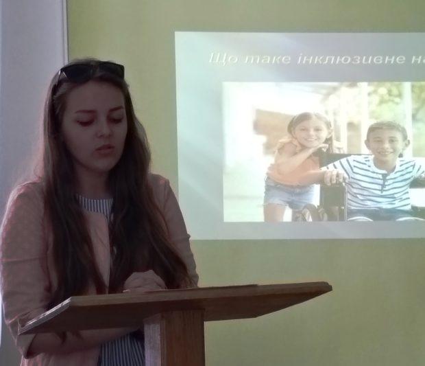 Марія Копанишин – студентка 3-го курсу філологічного факультету