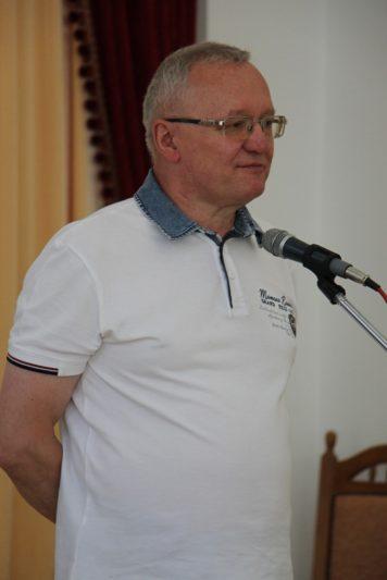 Вітальне слово декана історичного факультету професора Леоніда Тимошенка