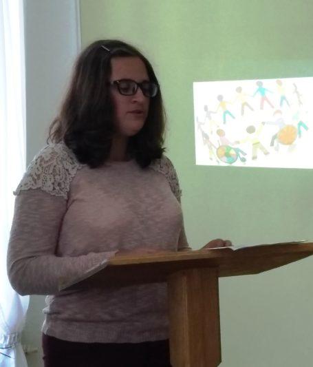 Доповідає студентка 3-го курсу історичного факультету Лідія Мазурчак