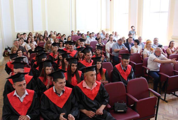 Магістри-випускники та гості заходу