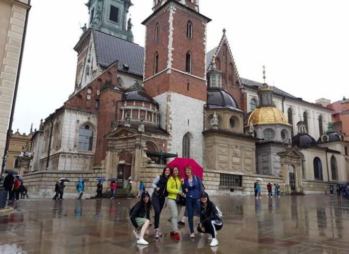 Дрогобицькi студенти у Краковi