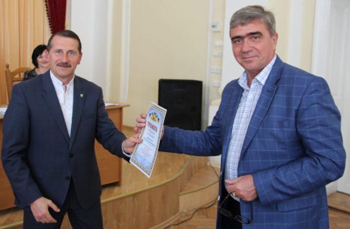 Професор Леонід Оршанський нагороджений подякою від міського голови
